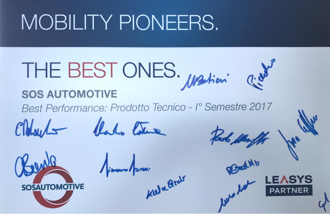 SOS Automotive Best Performance Prodotto Tecnico