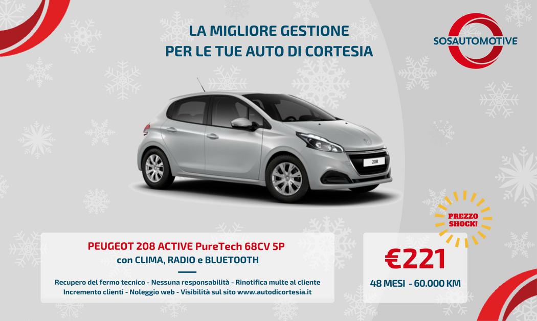 Peugeot 208 per carrozzerie e officine for 2 officine di garage per auto